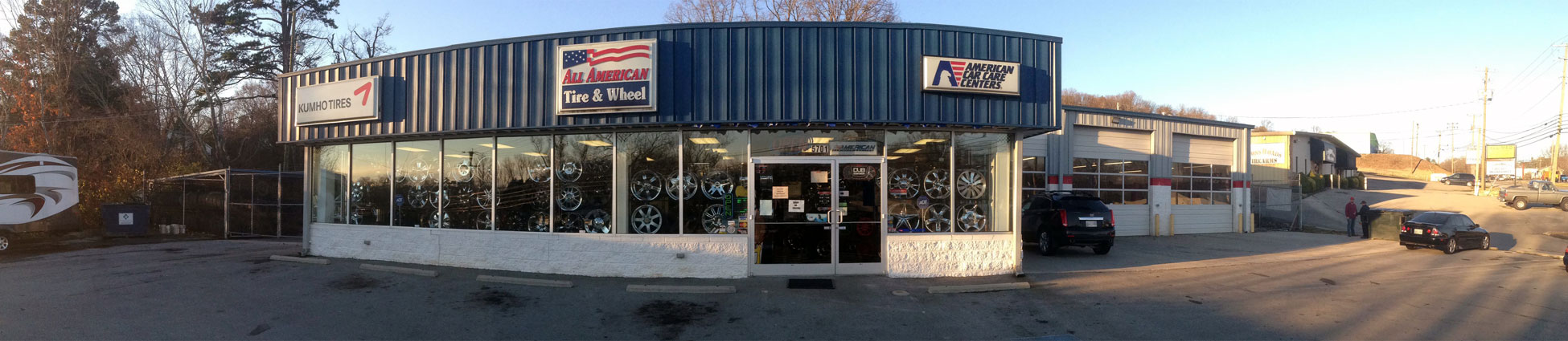 What products and services do American Tire Distributors offer?